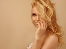 Head shot of luxury woman Royalty Free Stock Image
