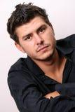Head Shot Of Male Model Royalty Free Stock Photo