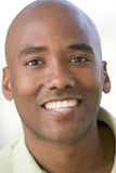 Head shot of man smiling Stock Photo