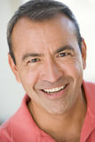 Head shot of man smiling Royalty Free Stock Images
