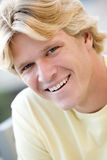Head shot of man smiling Royalty Free Stock Photos