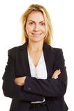 Head shot of smiling businesswoman Stock Photo