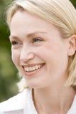 Head shot of woman Stock Photos