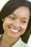 Head shot of woman smiling Stock Photography
