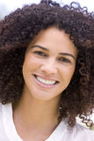 Head shot of woman smiling Stock Photos
