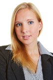 Head shot of young business woman Royalty Free Stock Image