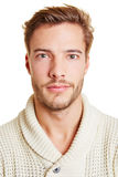 Head shot of young man. Head shot of a young attractive man Stock Images
