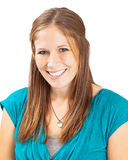 Head Shot Of Young Woman Light Brown Hair Royalty Free Stock Photos