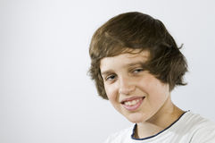Head and shoulder of boy Royalty Free Stock Images
