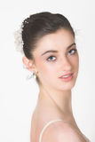 Head and Shoulders. Shot of a young ballerina stock images
