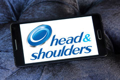 Head and shoulders logo Royalty Free Stock Images