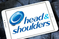 Head and shoulders logo Stock Photo