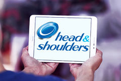 Head and shoulders logo Royalty Free Stock Photography