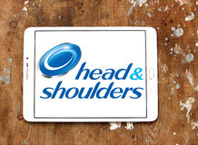 Head and shoulders logo Royalty Free Stock Image