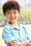 Head And Shoulders Portrait Of Chinese Boy Royalty Free Stock Photo