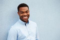 Head and shoulders portrait of young African American man Stock Photography