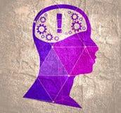 head silhouette royaltyfri illustrationer