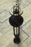 head skuggasprinkler för ritningar royaltyfri bild