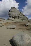Head skyddstid för naturlig sten arkivfoton