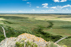 Head-Smashed-In Buffalo Jump Stock Photos