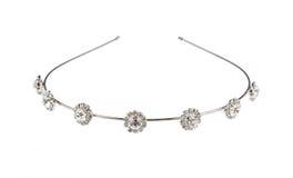 Head smycken på vit isolerad bakgrund Royaltyfria Bilder