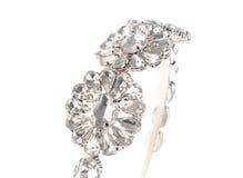 Head smycken på vit isolerad bakgrund royaltyfri fotografi