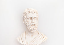 Head of Sophocles sculpture. Image Royalty Free Stock Image