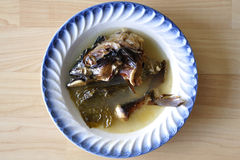 Head soppa för fisk Royaltyfri Foto