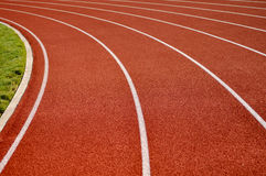 Head Start Running Track Background Stock Photos
