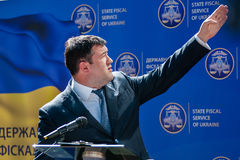 The head of the State Fiscal Service of Ukraine Stock Images