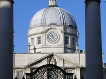 Head of State Ireland Dublin. Front view of Department of the Taoiseach (Prime Minister and Head of State of Rebuplic Ireland), Merrion Street, Dublin, Ireland Stock Photos