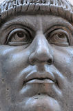 Head of the Statue of Colossus of Constantine Royalty Free Stock Image