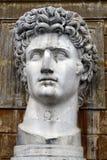 Head Statue Of Julius Caesar Royalty Free Stock Images