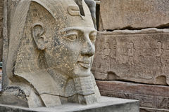 Head statue of Ramses II Royalty Free Stock Image