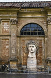 The head of the statue, Vatican Stock Photos