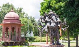 Head staty för ganesha fem Royaltyfri Bild