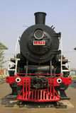 Head of steam locomotive Stock Photography