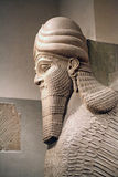 Head of a Sumerian Annunaki Royalty Free Stock Images