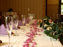 Head table Royalty Free Stock Photos
