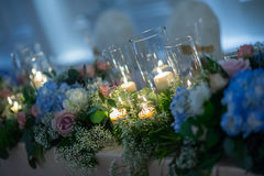 Head table. In wedding ceremony Royalty Free Stock Images