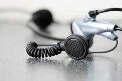 head telefon Fotografering för Bildbyråer