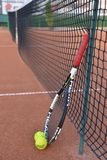 Tennis racquet Royalty Free Stock Photography