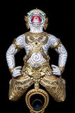Head of Thailand Royal Barge Stock Image