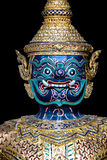 Head of Thailand Royal Barge Stock Photography