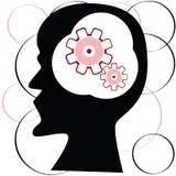 Head Thinking Stock Image