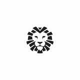 Head tiger logo Royalty Free Stock Images
