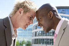 Head to Head Royalty Free Stock Image