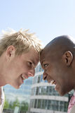Head to Head Stock Images