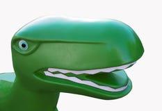 Dinosaur Toy Head T Rex Tyrannosaurus Rex Stock Image