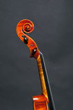 Head of a violin Royalty Free Stock Photos